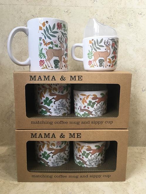 Mama & Me - Mug & Sippy cup set