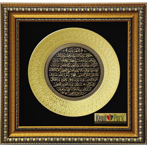 0AA3-GOLD MOTİFLİ TABLO