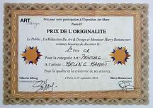 1er Prix Or 2019