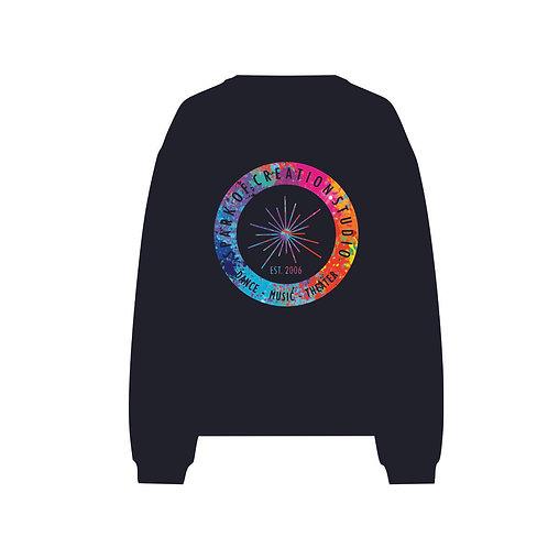 "SOC Studio - ""Splash of Color"" Adult Raglan Sweatshirt"