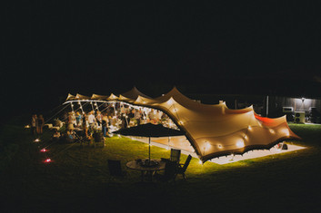 Hire festoons for marquees