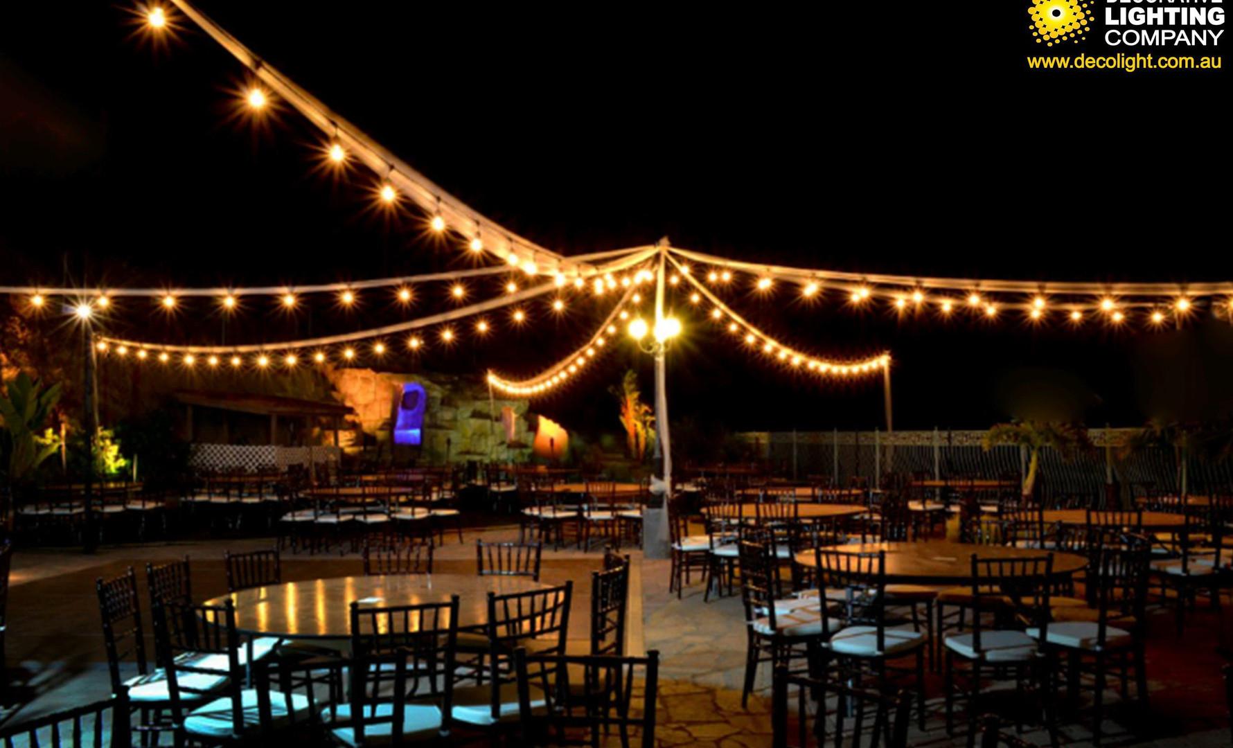 Star Canopy Festoon Lights