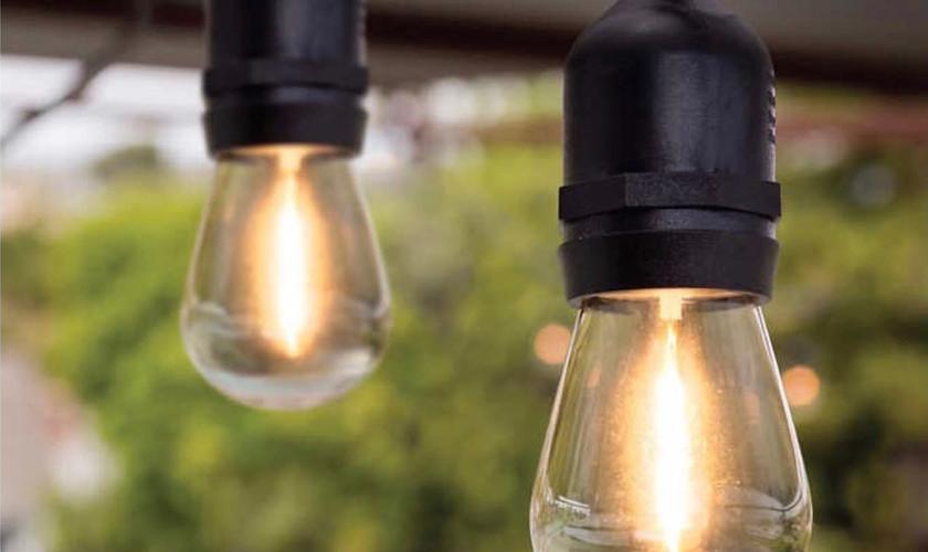 Festoon string lights