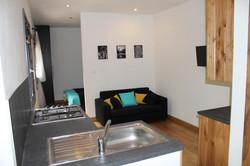 Chalet Kitchen & Lounge Area