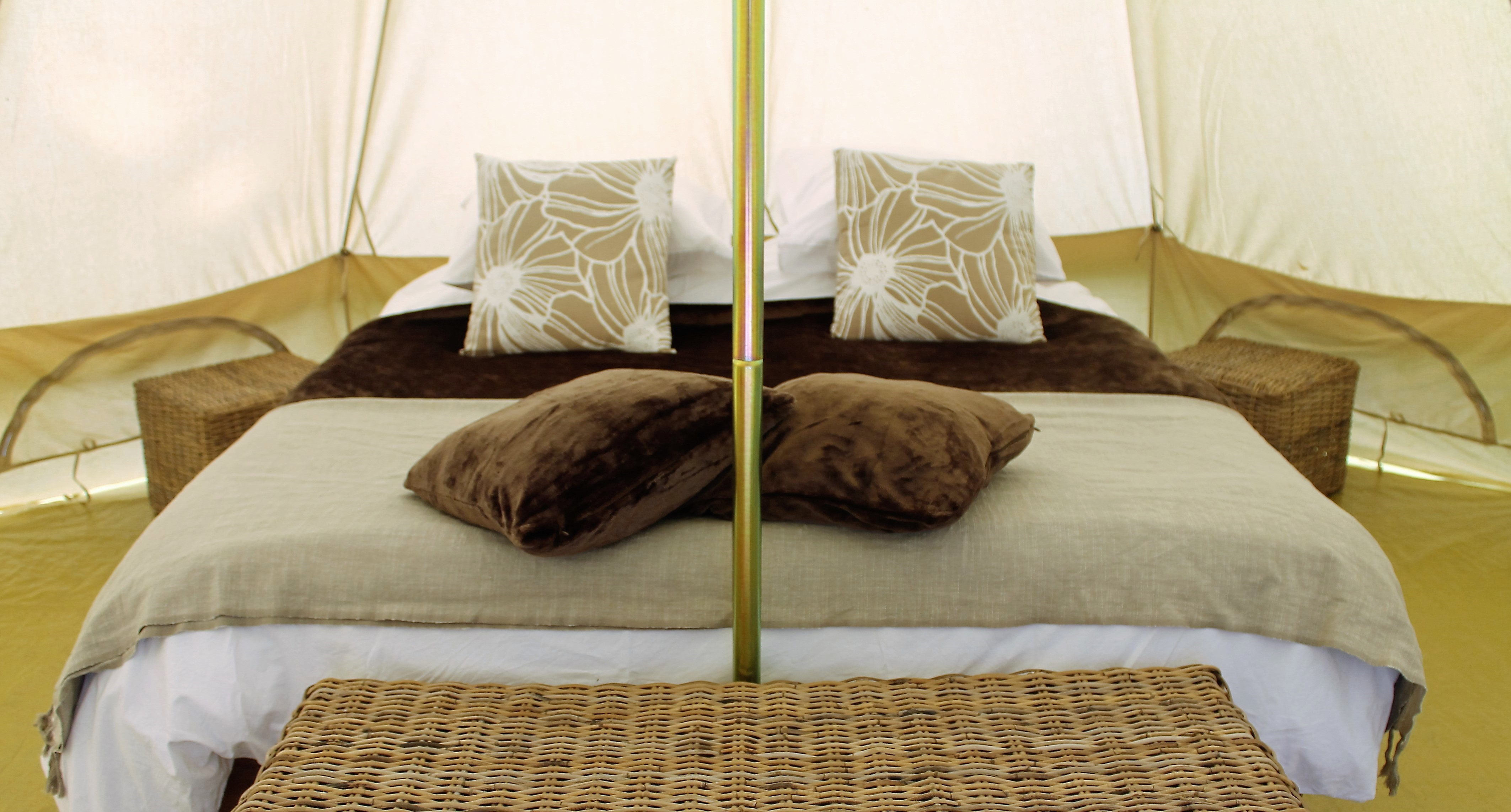 Bell Tent Double Bed