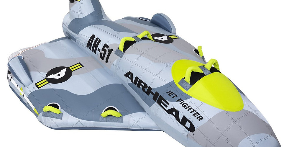 Airhead Remolcable Inflable Jet Fighter