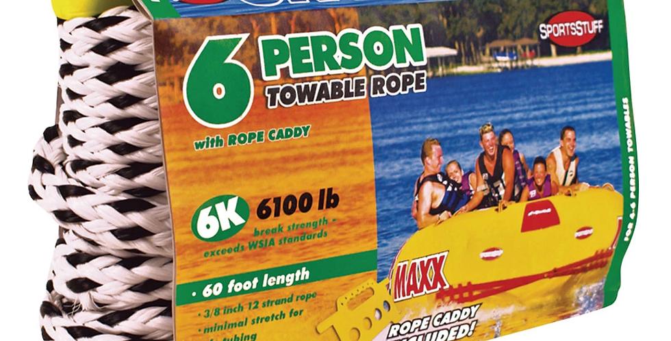 Sportsstuff Cuerda para Remolcar Inflable 6 Personas 18m