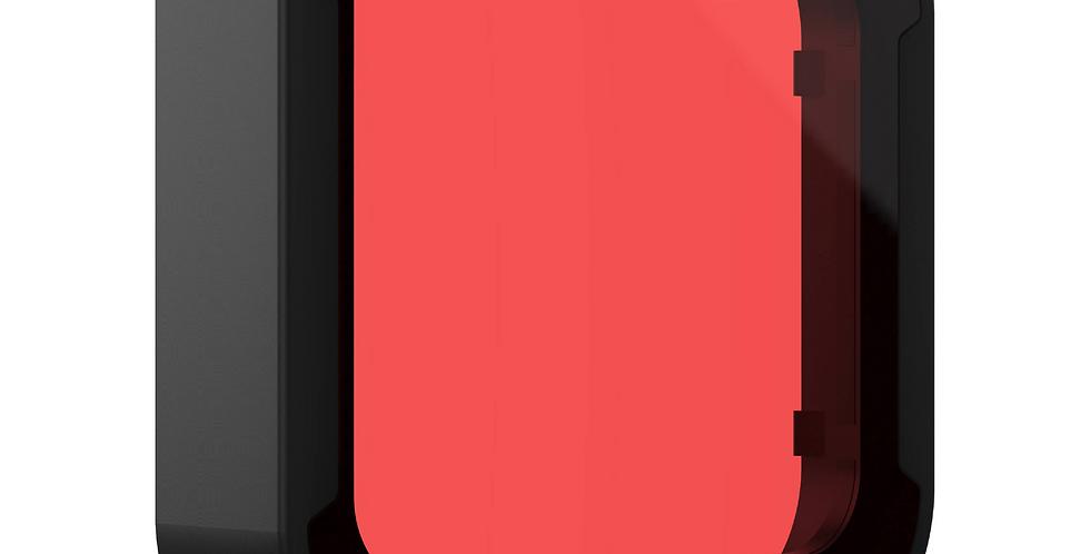GoPro Filtro Rojo Carcasa Buceo Hero8