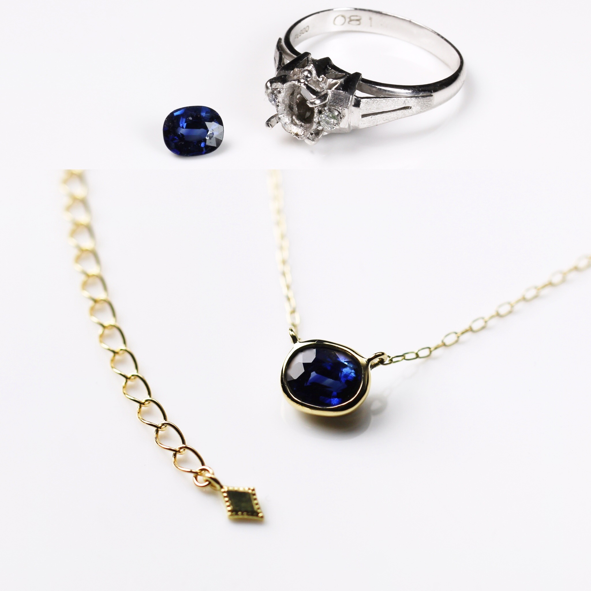 necklace リメイク