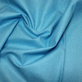 Turquoise blue Glitter fabric Sparkle Crystal cotton fabric Metallic craft fabri