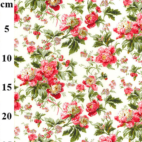 Floral fabric, Flower print, 100% cotton print