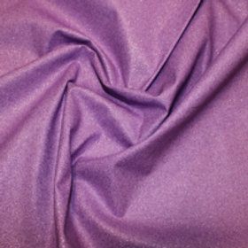 Lilac Glitter fabric Sparkle Crystal cotton fabric, craft fabric