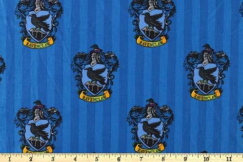 Ravenclaw House Crest Fabric, Harry Potter fabric print, 100% Cotton Fabric