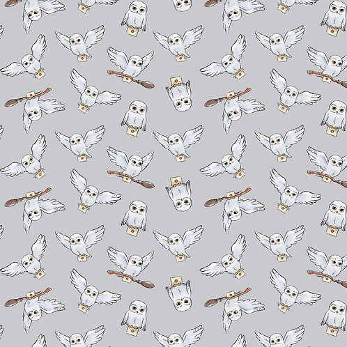Harry Potter fabric, Hedwig owl 100% Cotton Fabric