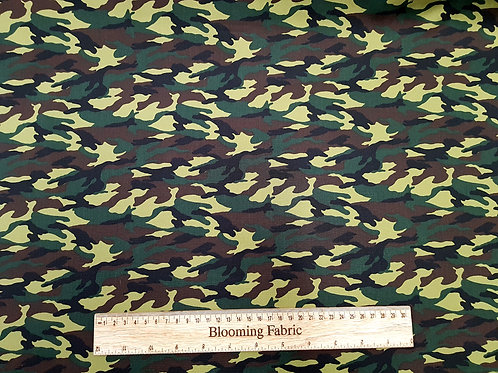 Camouflage fabric, Jungle fabric, Army fabric, craft and clothing, quilting