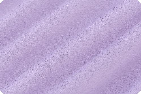 Lavender Cuddle® fabric Soft Minky Shannon Fabric Minky Solid Plain Fabric