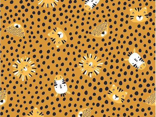 Animal Spots Cotton Jersey/Knit