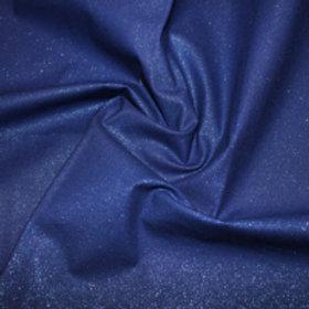Dark blue Glitter fabric Sparkle Crystal cotton fabric Metallic craft fabric