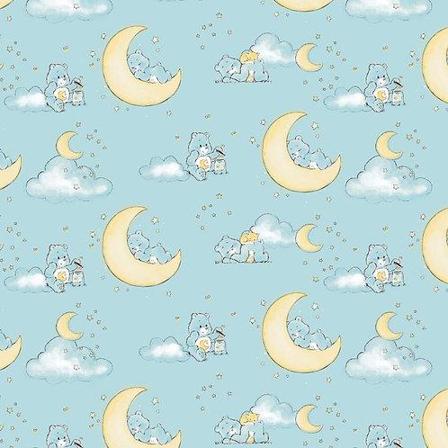 Care Bears Fabric, Bedtime Bear fabric Nursery fabric