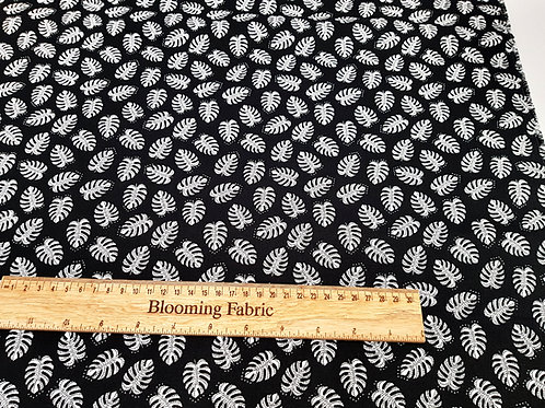 Mandala leaf fabric, geometric fabric, 100% cotton print
