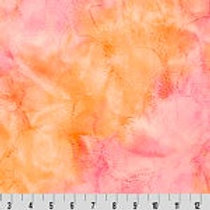 Sorbet Sunset Shannon Fabric, Luxe Cuddle® Minky Solid Plain Fabric