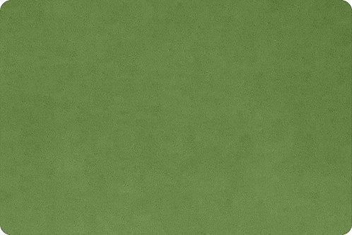 Olive Cuddle® fabric Soft Minky Shannon Fabric