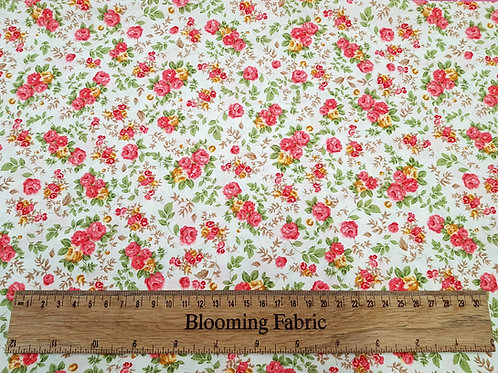 Small Flower print cotton, 100% cotton poplin print
