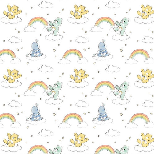 Care Bears Fabric, Rainbow fabric