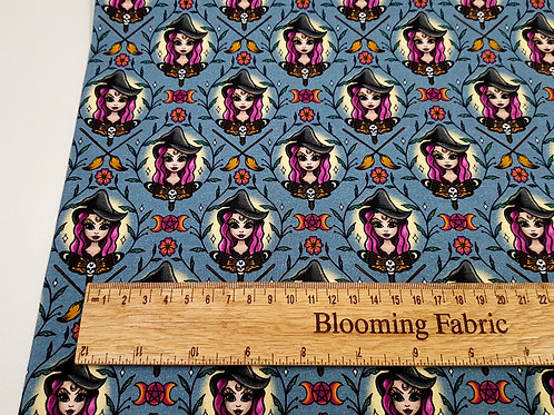 Witchy vibes Cotton Jersey, Cotton knit fabric