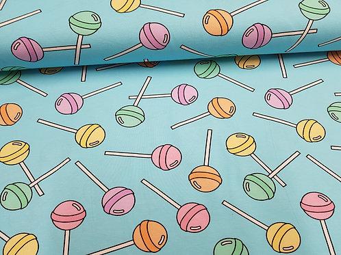 Lollipop Jerseys fabric, Candy knit Fabric, Cotton, 80s, 90s fabric