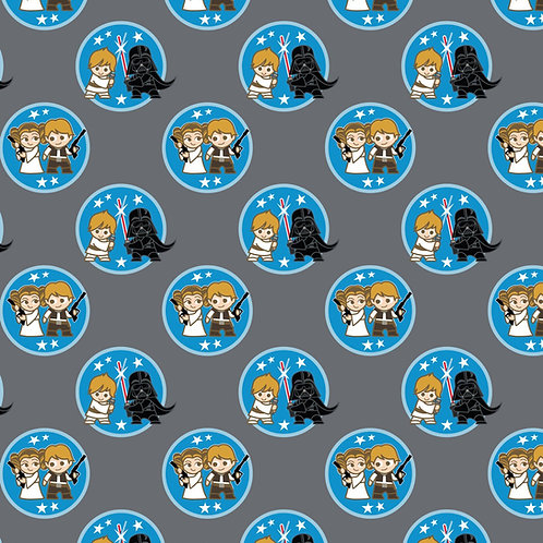 Star Wars Characters fabric 100% cotton