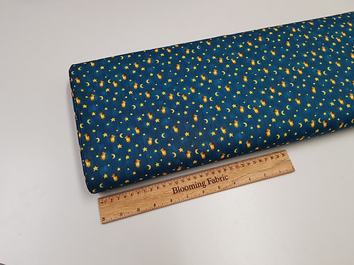 Lantern fabric, Moon fabric, star fabric 100% cotton