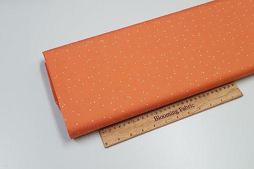 Geometric cotton fabric, Specks fabric, terracotta fabric 100% cotton