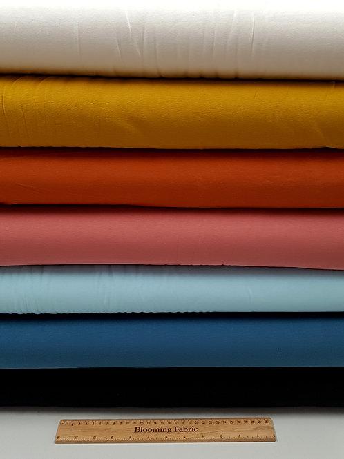 Organic Jersey Solids GOTS Cotton knit fabric, Organic cotton