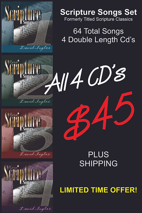 Scripture Songs CD Collection - SET