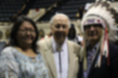 Cree Chief Matthew Coon Come & Wife Mary Ann