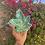 Thumbnail: Green leaf glittered ashtray