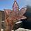 Thumbnail: Pink glittered leaf ashtray