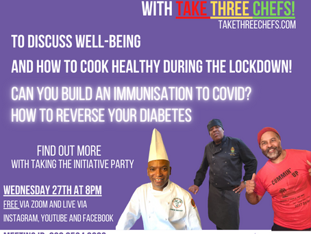 Join our live discussion on wellbeing and healthy eating in lockdown tomorrow evening!