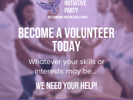 Let us become the change we want to see, sign up to become a volunteer today!