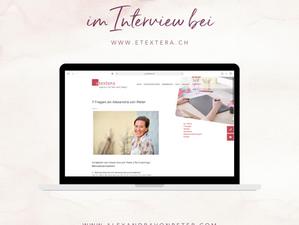Im Interview bei etextera.ch
