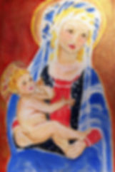 Madonna and Child by Marlene T. Bell