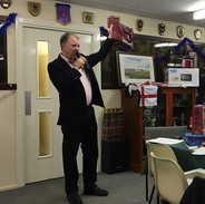 Lyndon talking up the Auction