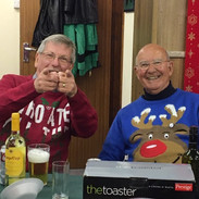 Prize winners in the Best Jumper contest