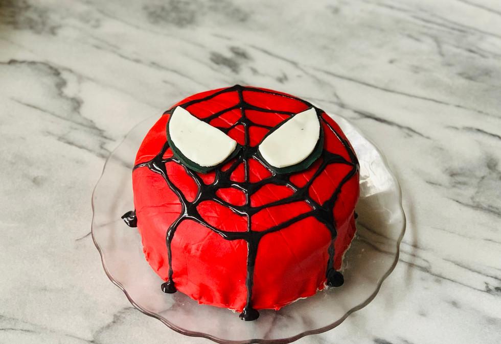 Your friendly neighborhood Spider_man Cake