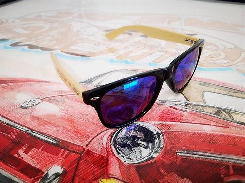 Sunglass Black/Blue Purple