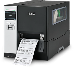 TSC MH240 thermal transfer tag and label printer