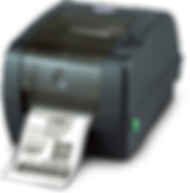 TSC TTP-345 thermal transfer tag and label printer