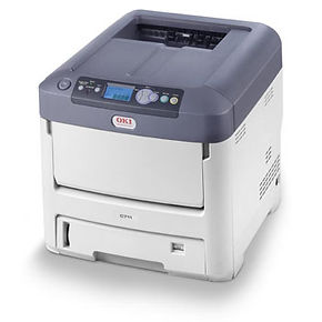 Okidata C711 Laser printer for full-color tags and labels
