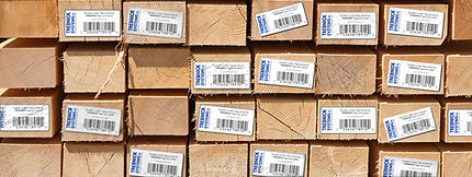 Trebnick manufactures tags and labels for lumber and lumber products